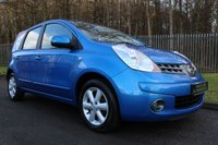 2008 NISSAN NOTE 1.4 ACENTA 5d 88 BHP £2500.00