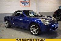 USED 2005 55 TOYOTA MR2 1.8 ROADSTER 2d 138 BHP PART EXCHANGE TO CLEAR, SORRY NO AA INSPECTION OR WARRANTY WITH THIS CAR.