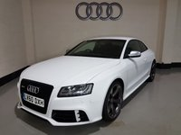 USED 2010 60 AUDI A5 4.2 RS5 FSI QUATTRO 2d AUTO 444 BHP Sat-Nav/Bang & Olufsen/Bluetooth/20in Alloys/Leather