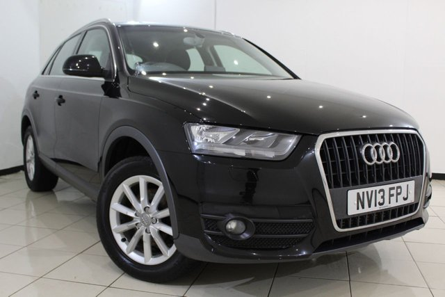 View our 2013 13 AUDI Q3 2.0 TDI SE 5DR 138 BHP