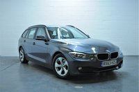 USED 2013 63 BMW 3 SERIES 2.0 320D EFFICIENTDYNAMICS TOURING 5d 161 BHP 1 OWNER + FULL BMW SERVICE HISTORY + FULL LEATHER + SAT NAV