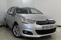 USED 2014 64 CITROEN C4 1.6 VTR PLUS HDI 5DR 91 BHP FULL CITROEN SERVICE HISTORY + BLUETOOTH + PARKING SENSOR + CRUISE CONTROL + MULTI FUNCTION WHEEL + AIR CONDITIONING + RADIO/CD + 16 INCH ALLOY WHEELS