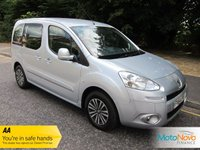 USED 2014 64 PEUGEOT PARTNER 1.6 HDI S/S TEPEE S 5d AUTO 92 BHP Lovely Example of the sought after Automatic Peugeot Partner with One Owner from New, Twin Sliding Doors and Peugeot Service History.