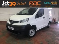 USED 2013 63 NISSAN NV200 1.5 SE DCI 1d 89 BHP Great Runner, Good Spec!