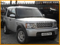 2009 LAND ROVER DISCOVERY 2.7 3 COMMERCIAL 1d 188 BHP £9995.00