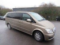 2011 MERCEDES-BENZ VIANO 3.0 122 CDI BLUEEFFICENCY AMBIENTE 5d AUTO 224 BHP £21995.00