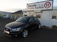 USED 2012 62 AUDI A1 1.6 SPORTBACK TDI S LINE 5d 105 BHP £49 PER WEEK NO DEPOSIT - SEE FINANCE LINK BELOW