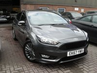 USED 2017 67 FORD FOCUS 1.5 ST-LINE TDCI 5d 118 BHP ANY PART EXCHANGE WELCOME, COUNTRY WIDE DELIVERY ARRANGED, HUGE SPEC