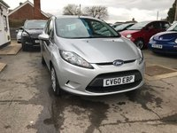 USED 2010 60 FORD FIESTA 1.2 STYLE PLUS 3d 81 BHP NEED FINANCE? WE STRIVE FOR 94% ACCEPTANCE