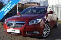 USED 2009 59 VAUXHALL INSIGNIA 2.0 ELITE CDTI ECOFLEX 5d 157 BHP SUPERB EXAMPLE WITH FSH! CAMBELT DONE! HIGH SPEC! BLACK LEATHER INTERIOR! HEATED SEATS!