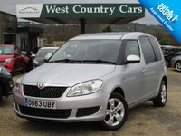 USED 2013 63 SKODA ROOMSTER 1.2 SE TSI 5d 84 BHP Only 2 Owners From New
