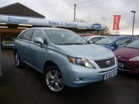 USED 2011 60 LEXUS RX 3.5 450H SE-I 5d AUTO 249 BHP NEED FINANCE? WE STRIVE FOR 94% ACCEPTANCE