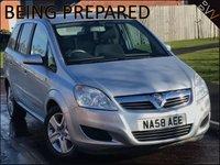 2008 VAUXHALL ZAFIRA 1.9 EXCLUSIV CDTI 5d AUTO 120 BHP £3995.00