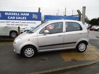 2007 CHEVROLET MATIZ 0.8 SE 5d AUTO 51 BHP £2495.00