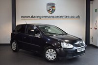 USED 2008 08 VOLKSWAGEN GOLF 1.4 S 3DR 79 BHP + EXCELLENT SERVICE HISTORY + WONDERFULLY MAINTAINED + SPORT SEATS + SPORT SEATS + HEATED MIRRORS + AIR CONDITIONING +