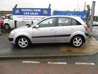 USED 2007 07 KIA RIO 1.4 LS 5d 96 BHP 2 Stamps Of Service History .1 Former Keepers .New MOT & Full Service Done on purchase + 2 Years FREE Mot & Service Included After . 3 Months Russell Ham Quality Warranty . All Car's Are HPI Clear . Finance Arranged - Credit Card's Accepted . for more cars www.russellham.co.uk  - Spare key and book pack .