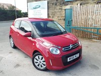 USED 2016 66 CITROEN C1 1.2 PURETECH FEEL 3d 82 BHP ONE Owner ZERO Rate Road Tax
