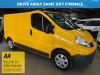 USED 2012 12 RENAULT TRAFIC 2.0 SL27 DCI S/R 115 BHP-SAT NAV *NO VAT TO PAY* '' YOU'RE IN SAFE HANDS  ''  WITH THE AA DEALER PROMISE