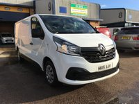 2015 RENAULT TRAFIC 1.6 LL29 BUSINESS PLUS ENERGY DCI S/R P/V 1d 120 BHP £10000.00
