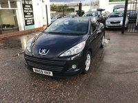 USED 2009 59 PEUGEOT 207 1.6 CC SPORT 2d 120 BHP Service History-Electric Roof-52,000 Miles