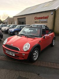 2006 MINI CONVERTIBLE 1.6 ONE 2d 89 BHP £2595.00