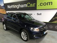 USED 2015 65 VOLKSWAGEN TIGUAN MATCH EDITION TDI BMT 4MOTION