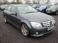 2010 MERCEDES-BENZ C CLASS 1.8 C180 CGI BLUEEFFICIENCY SPORT 5d AUTO 156 BHP £6000.00