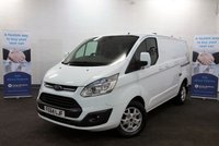 USED 2014 64 FORD TRANSIT CUSTOM 2.2 270 LIMITED 125 BHP SWB, Air Con, Bluetooth, DAB Radio, Cruise Control *Over The Phone Low Rate Finance Available*   *UK Delivery Can Also Be Arranged*           ___________       Call us on 01709 866668 or Send us a Text on 07462 824433