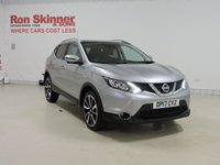 USED 2017 17 NISSAN QASHQAI 1.5 DCI TEKNA 5d 108 BHP with Panoramic Glass Roof