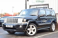 USED 2007 JEEP COMMANDER 3.0 V6 CRD LIMITED 5d AUTO 215 BHP Service History.Serviced on Purchase. Fantastic condition vehicle, great amount of features.