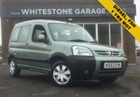 USED 2004 53 PEUGEOT PARTNER 2.0 COMBI ESCAPADE HDI 5d 89 BHP PRISTINE MPV DIESEL FSH, SUPPLIED WITH 1 YEARS MOT WHEN SOLD.
