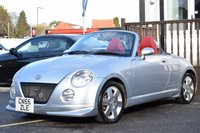 USED 2005 55 DAIHATSU COPEN 0.7 ROADSTER 2d 67 BHP SUPERB CONDITION CAR WITH VERY LOW MILES FOR THE YEAR AND COMPREHENSIVE SERVICE HISTORY