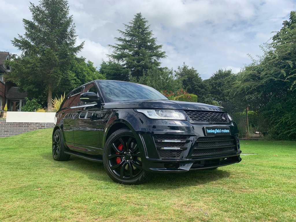 USED 2014 14 LAND ROVER RANGE ROVER SPORT 4.4 AUTOBIOGRAPHY DYNAMIC 5d AUTO 339 BHP