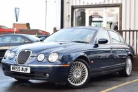 USED 2005 55 JAGUAR S-TYPE 3.0 SE V6 4d AUTO 240 BHP Fantastic condition car with full service history.