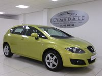 USED 2010 59 SEAT LEON 1.9 S EMOCION TDI 5d 103 BHP Full History, MOT 23.8.18, Low Ins Group, High MPG