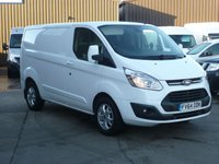 USED 2014 64 FORD TRANSIT CUSTOM 2.2TDCi T290 LIMITED L1 125 BHP FINANCE AVAILABLE