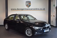 USED 2014 63 BMW 3 SERIES 1.6 320I EFFICIENTDYNAMICS BUSINESS 4d 168 BHP + BEIGE LEATHER INTERIOR + EXCELLENT SERVICE HISTORY + SATELLITE NAVIGATION + BLUETOOTH + HEATED SEATS + DAB RADIO + CRUISE CONTROL + PARKING SENSORS + 16 INCH ALLOY WHEELS +