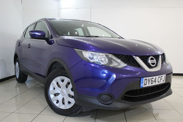 View our 2014 64 NISSAN QASHQAI 1.5 DCI VISIA 5DR 108 BHP