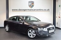 USED 2013 13 AUDI A5 2.0 SPORTBACK TDI SE TECHNIK 5DR AUTO 174 BHP + FULL BLACK LEATHER INTERIOR + FULL AUDI SERVICE HISTORY + SATELLITE NAVIGATION + BLUETOOTH + HEATED SPORT SEATS + CRUISE CONTROL + RAIN SENSORS + HEATED MIRRORS + PARKING SENSORS + 17 INCH ALLOY WHEELS +