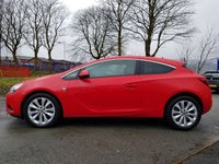 USED 2013 63 VAUXHALL ASTRA 1.7 GTC SRI CDTI S/S 3d 128BHP FULL LEATHER SEATS 1FORM KEEPER+18ALLOYS+PRIVACY+