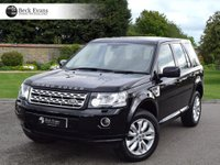 USED 2014 14 LAND ROVER FREELANDER 2.2 SD4 HSE 5d AUTO 190 BHP