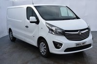 USED 2014 64 VAUXHALL VIVARO 1.6 2900 L2H1 CDTI P/V SPORTIVE 1d 114 BHP HIGHLY SOUGHT AFTER LONG WHEEL BASE VIVARO SPORTIVE MODEL WITH COLOUR CODED BUMPERS