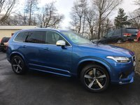 2015 VOLVO XC90 2.0 D5 R-DESIGN AWD 5d AUTO 222 BHP £32995.00