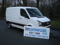 USED 2012 62 VOLKSWAGEN CRAFTER 2.0 CR30 TDI 1d 107 BHP