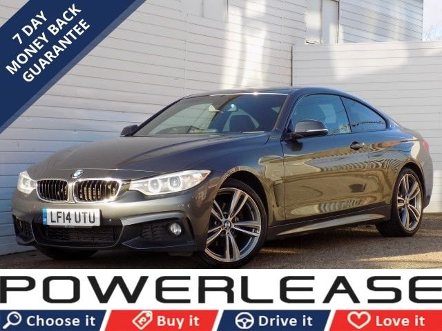 USED 2014 14 BMW 4 SERIES 2.0 420D M SPORT 2d AUTO 181 BHP REVERSE CAM HEATED SEATS DAB