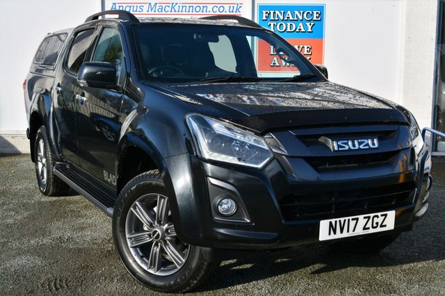 2017 17 ISUZU D-MAX 1.9 BLADE Double Cab Very High Spec Pickup