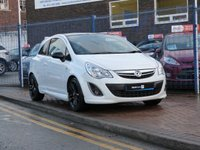 """USED 2012 62 VAUXHALL CORSA 1.2 LIMITED EDITION 3d  1 OWNER ~ FULL VAUXHALL HISTORY ( 5 VAUXHALL SERVICES ) ~ VXR STYLING ~ 17"""" ALLOY WHEELS ~ AIR CON ~ CRUISE CONTROL"""