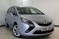 USED 2014 64 VAUXHALL ZAFIRA TOURER 2.0 SRI CDTI 5DR 128 BHP FULL SERVICE HISTORY + CRUISE CONTROL + PARKING SENSOR + MULTI FUNCTION WHEEL + AUXILIARY PORT + AIR CONDITIONING + 18 INCH ALLOY WHEELS