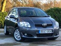 2008 TOYOTA AURIS 1.6 TR VVT-I MM 5d AUTO 122 BHP £4000.00