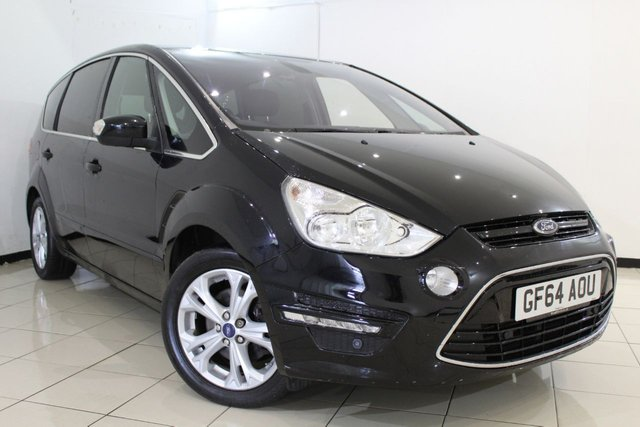 View our 2014 64 FORD S-MAX 2.0 TITANIUM TDCI 5DR 161 BHP